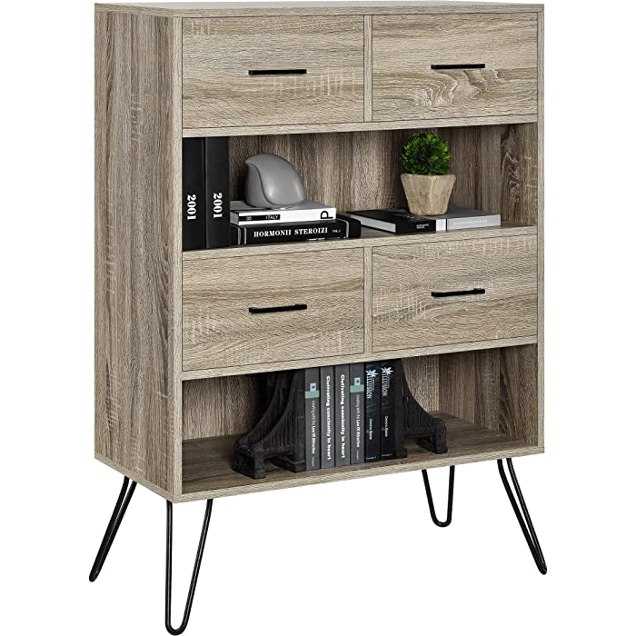 Top 8 Ameriwood Home Landon End Table Weathered Oak