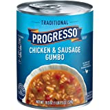 Progresso Soup, Traditional, Chicken & Sausage Gumbo Soup, 19 oz Can