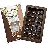 CHOCOLOT Classic 1 Silicone Break-Apart Chocolate Bar Mold, LFGB & FDA Grade Silicone, BPA Free, Oven Safe - 6.6 Fluid Ounce Capacity (1-Pack)