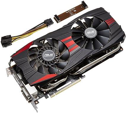 ASUS R9280X-DC2T-3GD5 - Tarjeta gráfica de 3 GB con AMD Radeon R9 280X (GDDR5, HDMI, DVI)