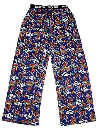 Disney Mens The Muppets Animal Rock Star Lounge Pants Pyjamas PJS Bottoms  (Small) 18081128b