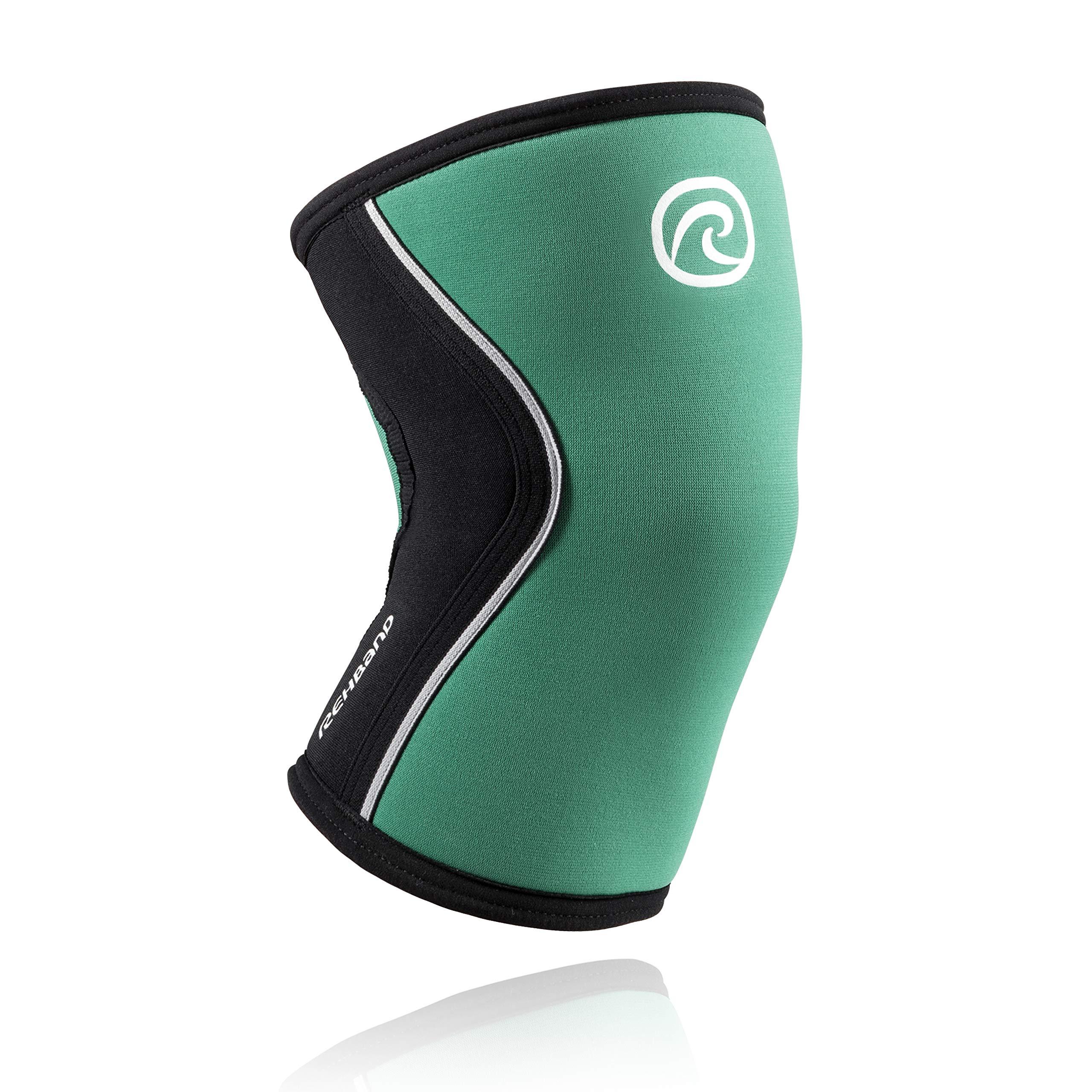 Rehband Rx Knee Sleeve 5mm - Emerald Green - X-Small