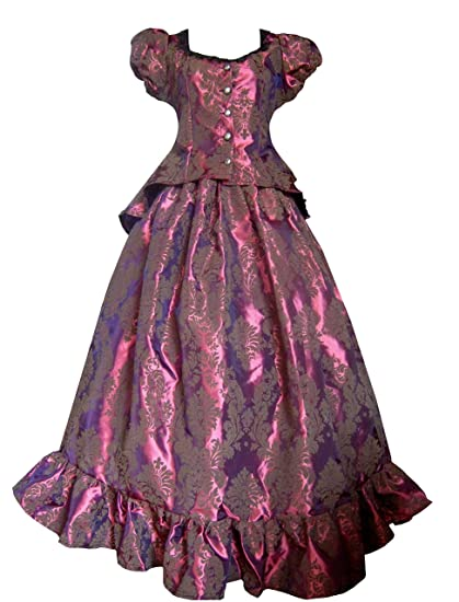 Victorian Costume Dresses & Skirts for Sale          Victorian Civil War Fuschia Burgundy Top & Skirt Dress                                                              Victorian Valentine Victorian Civil War Fuschia Burgundy Top & Skirt Dress                               $138.00 AT vintagedancer.com