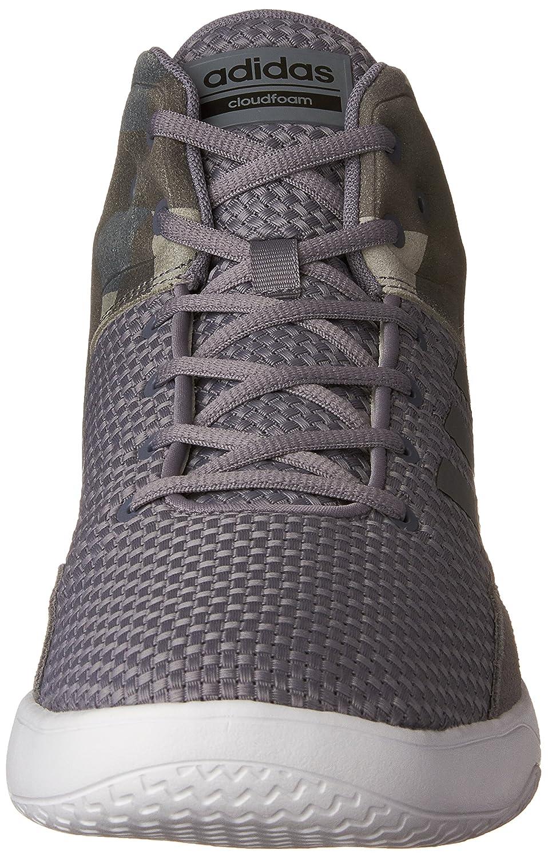 huge selection of 96bc6 63bb7 Amazon.com  adidas Mens Cloudfoam Revival Mid Basketball Shoes, Tech Grey Black, (7 M US)  Basketball