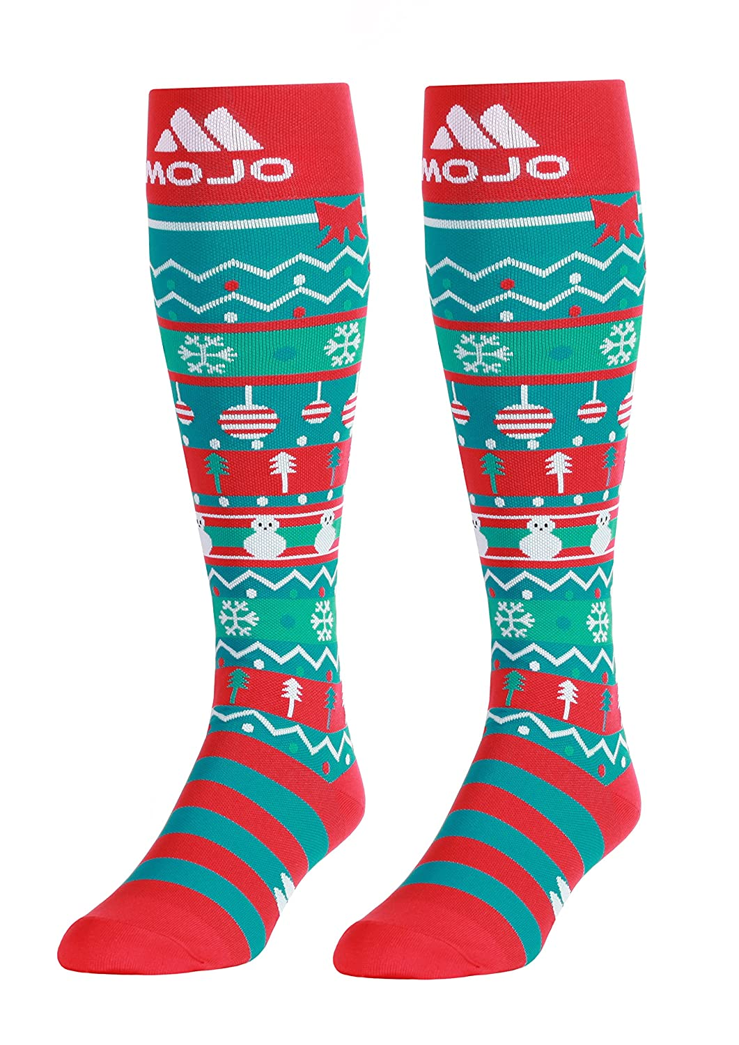 Amazon.com: Christmas Compression Socks – Graduated Compression Stockings - Firm Support 20-30mmHg - Mojo Compression Socks - Size Medium: Health & Personal ...