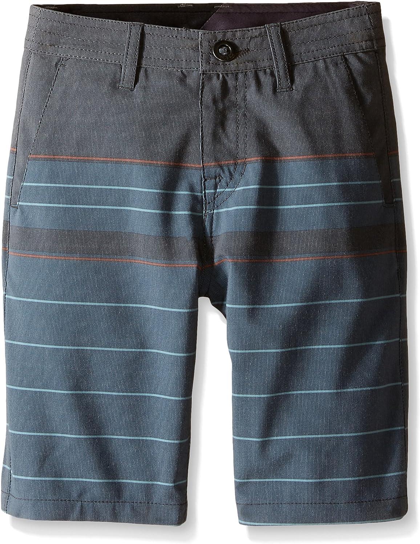 Volcom Boys SNT Stripe Hybrid Short