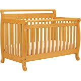 DaVinci Emily 4-in-1 Convertible Crib in Honey Oak