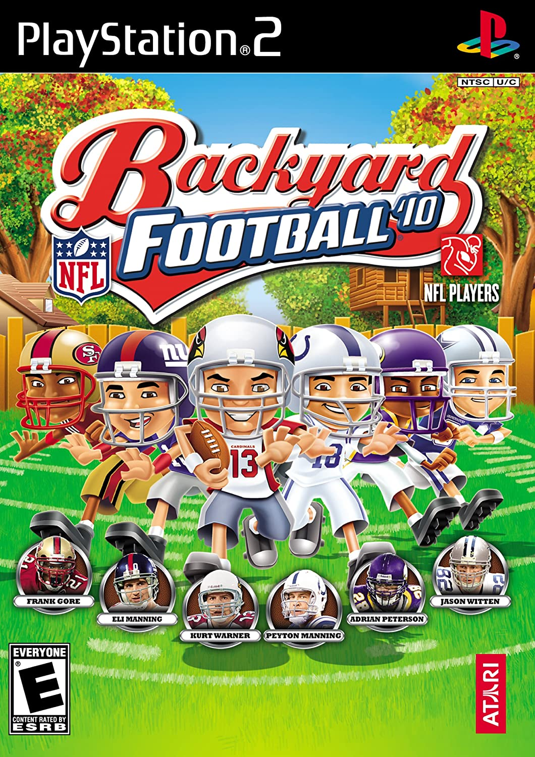 amazon com backyard football 2010 playstation 2 video games