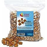 Caramel Candy - Bulk Caramel Squares - Caramels Vanilla Dulce De Leche, 5 LB Bulk