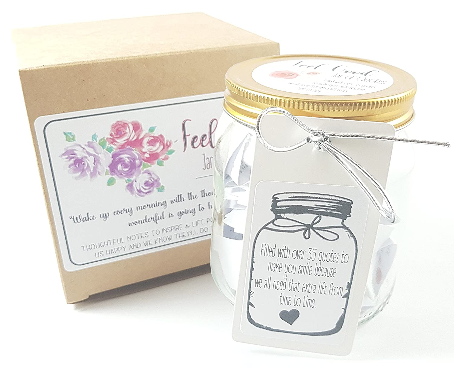 Feel Good Jars - 36 Inspiring quotes about LOVE, FRIENDSHIP, SUCCESS ...