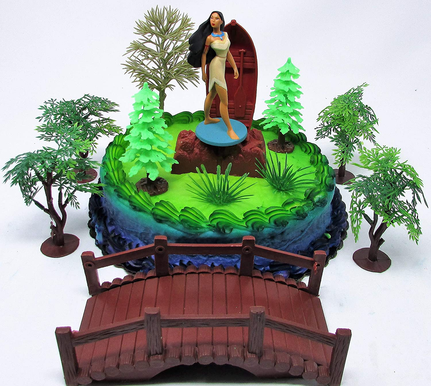 Surprising Amazon Com Pocahontas Themed Princess Pocahontas Birthday Cake Personalised Birthday Cards Cominlily Jamesorg