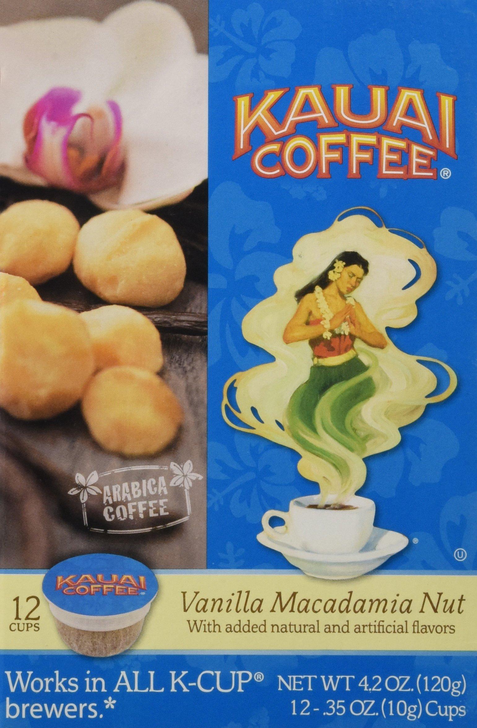 Kauai Coffee Na Pali Coast Dark Roast Single Serve 12