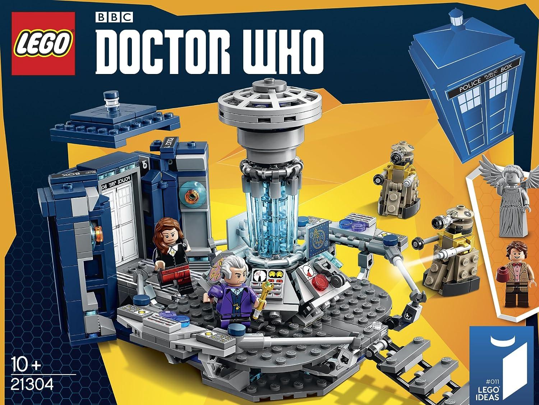 Sale On Legos Amazoncom Lego Ideas Doctor Who 21304 Building Kit Toys Games