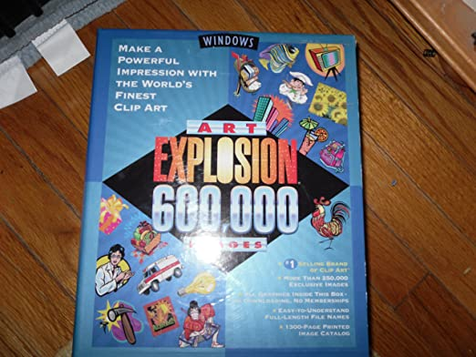 Amazon.com: Nova Art Explosion 600, 000 ClipArt