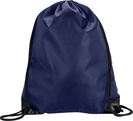 Amazon.com | Liberty Bags Value Drawstring Backpack OS NAVY ...