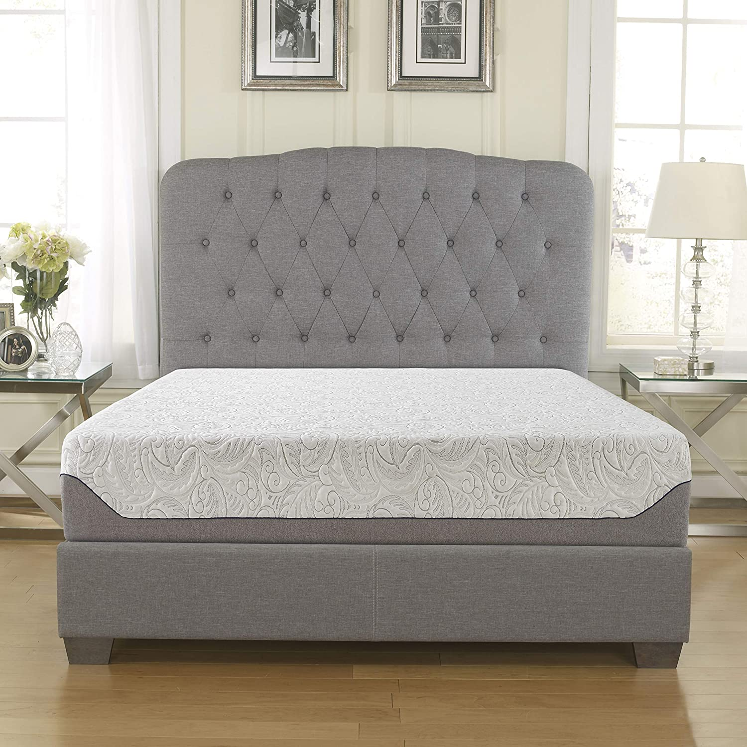 Boyd Sleep Cooling Air Flow Gel Memory Foam Mattress, 10 King