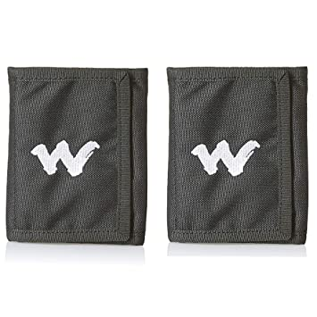 Wiki Wild Craft Black Canvas Trifold Chrome Men S Wallet Pack Of 2