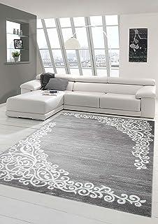 amazon.de: modern designer hochwertige teppich blumen für ... - Moderne Teppiche Fur Wohnzimmer