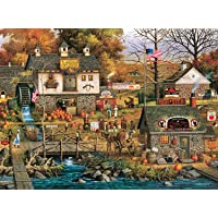 Deals on Charles Wysocki Olde Bucks County 1000 Piece Jigsaw Puzzle
