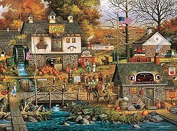 Buffalo Games Charles Wysocki Olde Buck's County 1000-Piece Jigsaw Puzzle
