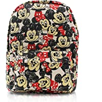 Finex Canvas Cute Cartoon Casual Backpack with 15 inch Laptop Storage Compartment for Girls Boys Daypack Travel Snack Sport Bag Gift One Size (Hardcode) black SF364B