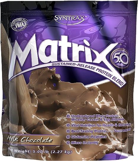SYNTRAX Matrix 5.0 5 lb - Sabor - Banana & cream: Amazon.es ...