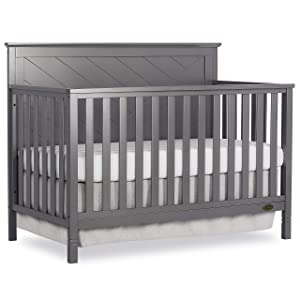 Dream On Me Skyline 5 in 1 Convertible Crib