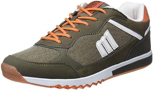 MTNG Gante, Zapatillas para Hombre, Varios Colores (Vertigo Kaky/Whastex Kaky/Action PU Blanco/Novi Kaky), 45 EU