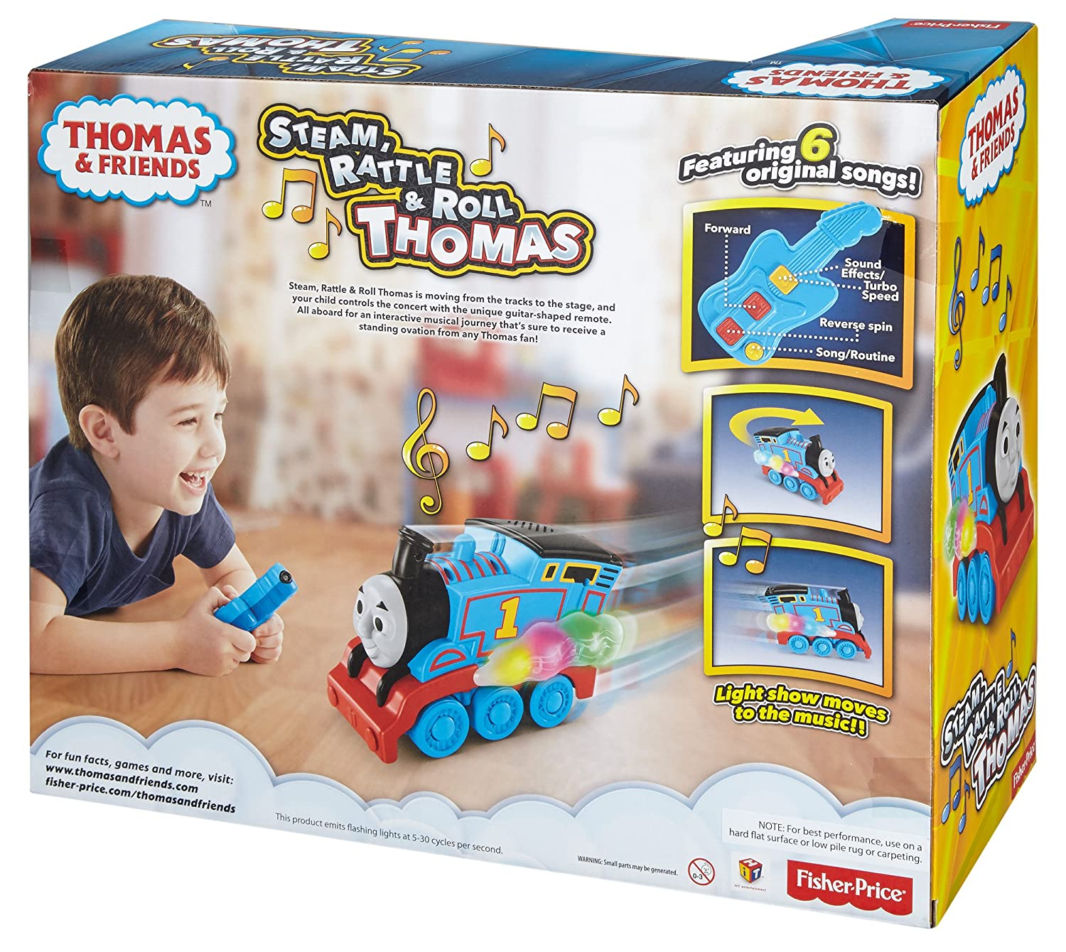 Fisher-Price Thomas /& Friends Steam Rattle /& Roll Thomas