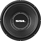 Sound Storm SS10 10 Inch, 600 Watt, Single 4 Ohm Voice Coil Car Subwoofer