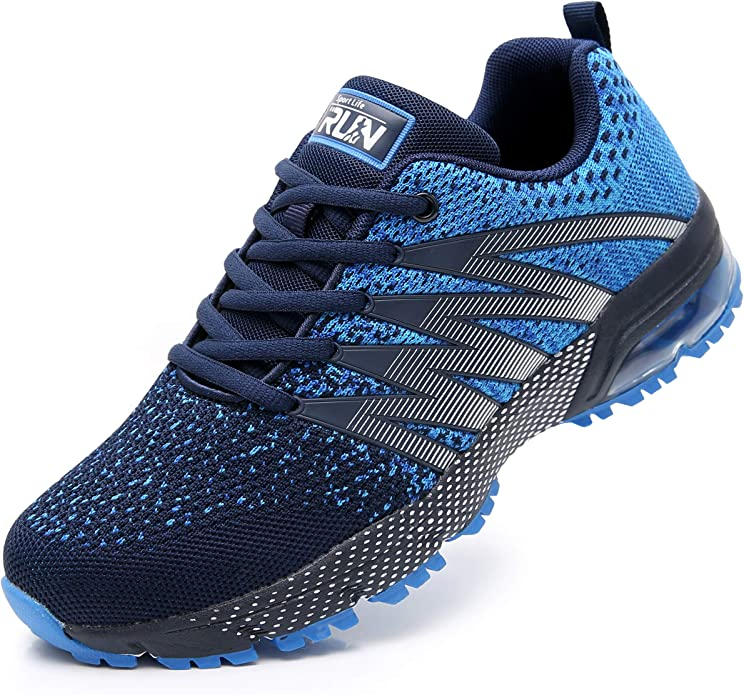 Chaussures de Sport Homme Respirante Antid/érapant Running Baskets Femme Gym Athletique Casual Outdoor Sneakers