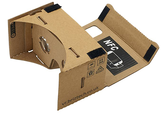 Amazon google cardboard 45mm focal length virtual reality google cardboard 45mm focal length virtual reality headset with free nfc tag headstrap publicscrutiny Image collections