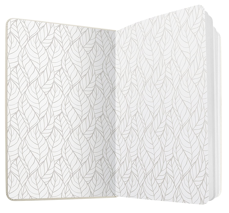 SIGEL JN303 Taccuino Jolie verde circa A5 174 pagine a righe copertina rigida