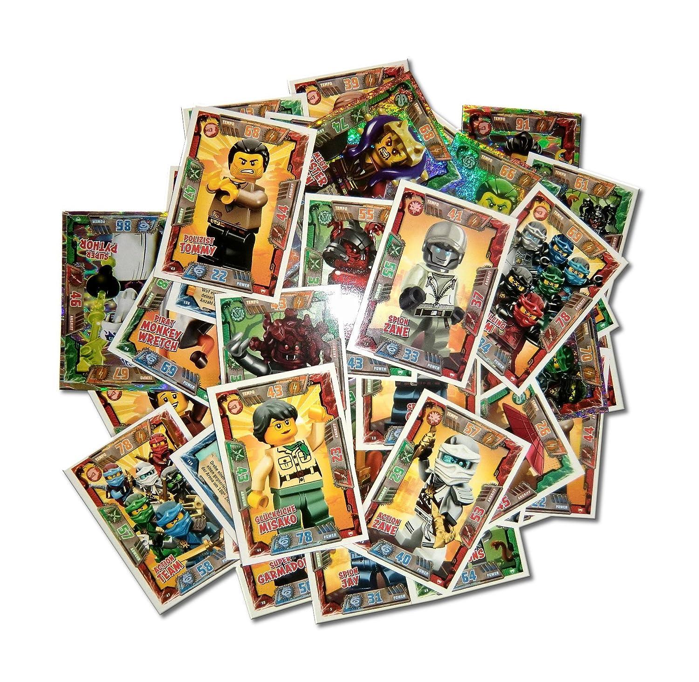 2x 30 Schützhüllen Sleeves  NEU /& OVP LEGO Ninjago Serie 2 Trading Card Game