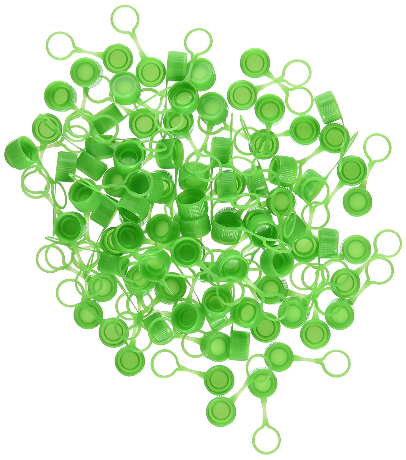 Neolab 7/Die Screw Caps with Ring/ Pack of 1000 /Green