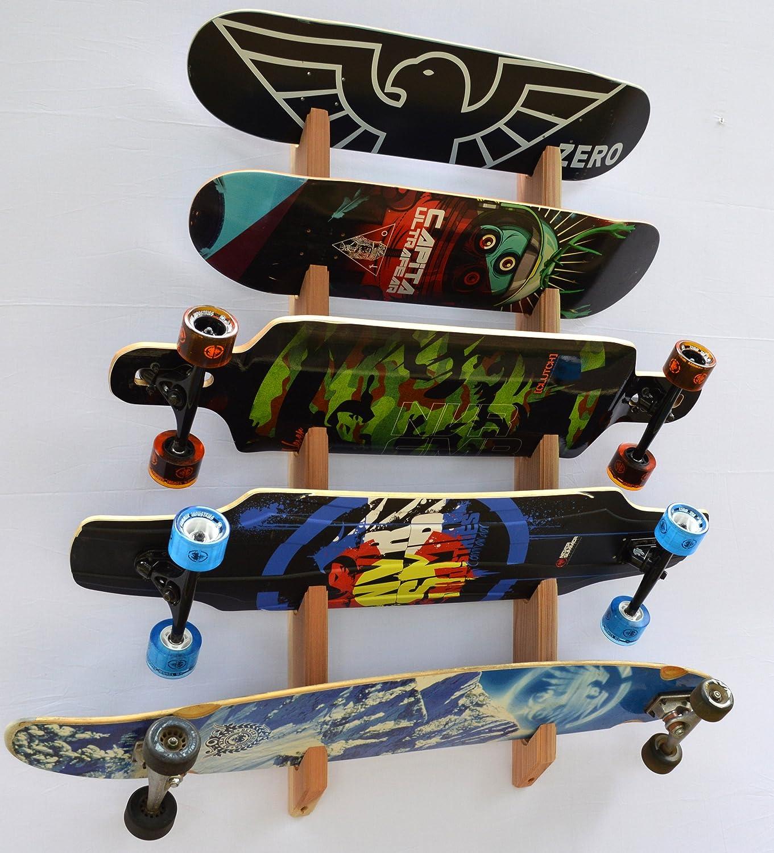 Superieur Amazon.com : Pro Board Racks Longboard Wall Rack Mount (Holds 5 Board) :  Indoor Snowboard Storage Racks : Sports U0026 Outdoors