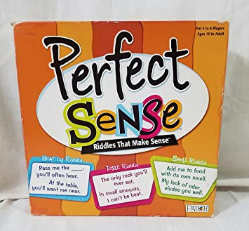 997968618f88 Buy Patch Products Perfect Sense - Riddles That Make Sense Online at Low  Prices in India - Amazon.in