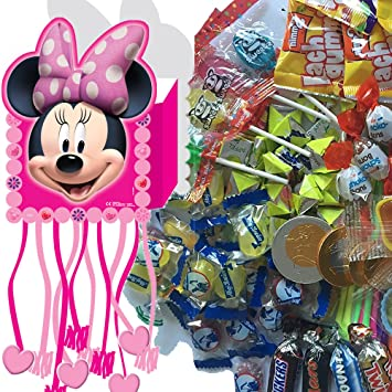 Piñata Juego: * Minnie Mouse * con Piñata + 100 Juego de ...