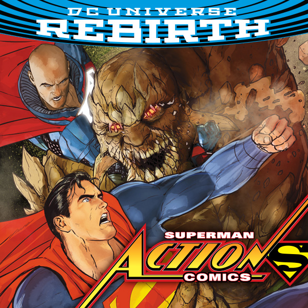 Action Comics (2016-) (Collections) (10 Book Series)