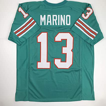 Unsigned Dan Marino Miami Green Custom Stitched Football Jersey Size XL New  No Brands Logos a4e1af592