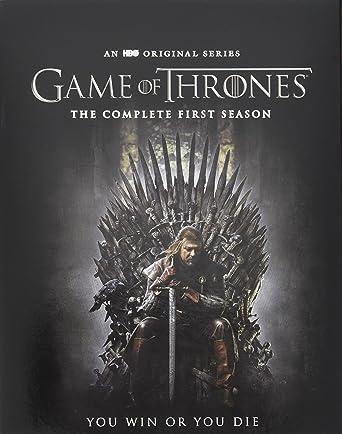 Game Of Thrones Season 1 Bd Blu Ray Amazon Com Br