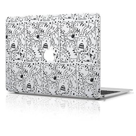 a972f50e1869 Amazon.com: Double Case Macbook Air 13 inch Plastic Matte Hard Case ...