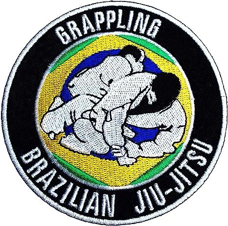 Brazilian Jiu Jitsu Gi Patch Martial Arts Bjj Kimono Patches MMA Grapling