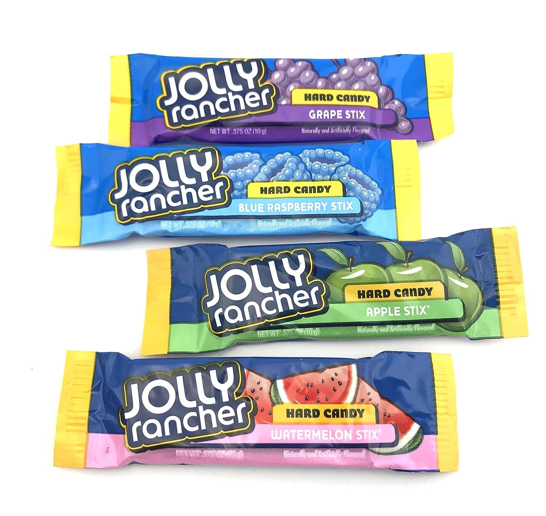 Jolly Rancher Stix Hard Candy, Original Flavors - 2 Pound Pack