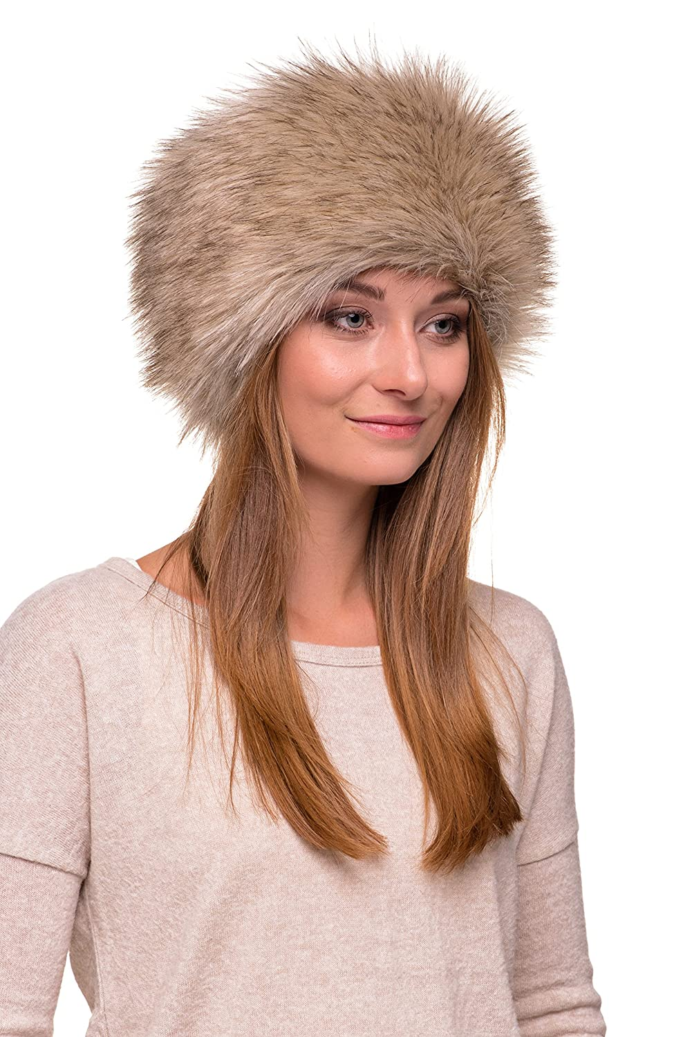e7d0df29c50 Futrzane Faux Fur Cossak Russian Style Hat for Ladies Winter Hat for Women  Futrzane-toczek larger image