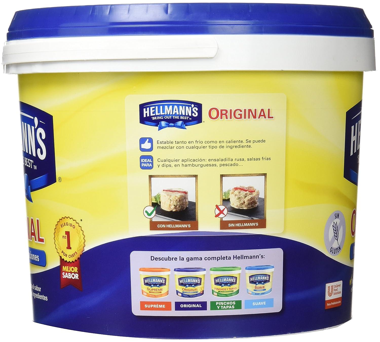 HellmannS - Original - Mayonesa - 5 l: Amazon.es: Alimentación y bebidas