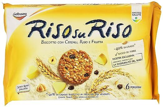 8 opinioni per Galbusera- Riso su Riso, Biscotto con Cereali, Riso e Frutta, Pacco da 6X40 g,
