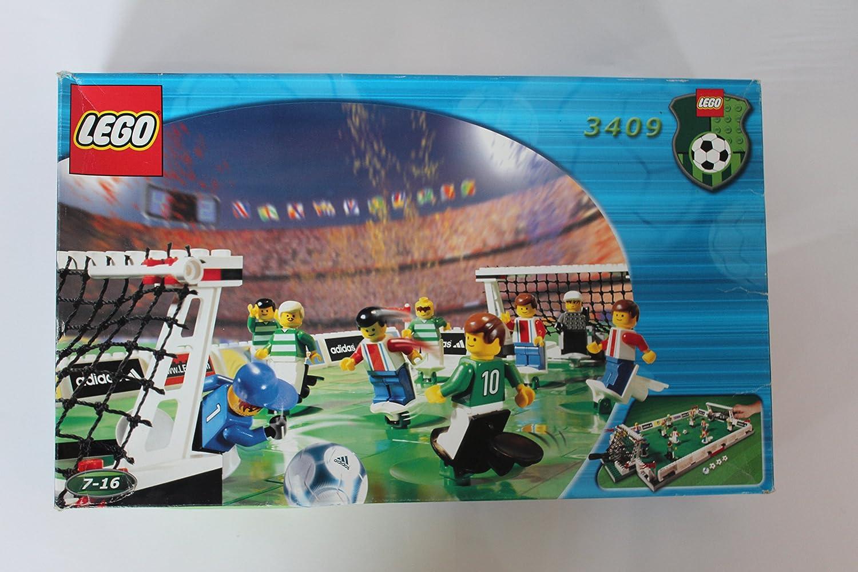 LEGO 3409 - Campo de fútbol (274 Piezas): Amazon.es: Juguetes y juegos