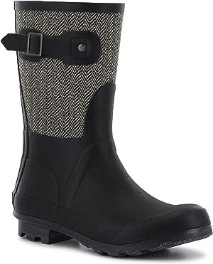 Chooka Women's Waterproof Mid Rain Boot