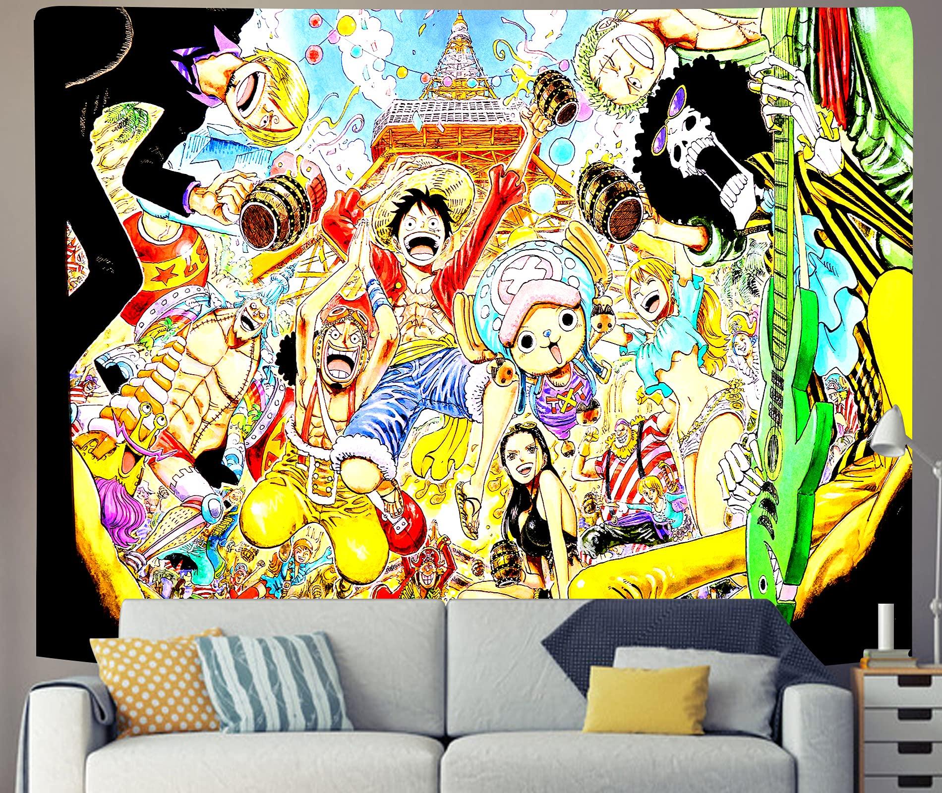 SKFFER One Piece Tapestry 3 Piece Set One Piece Poster – One